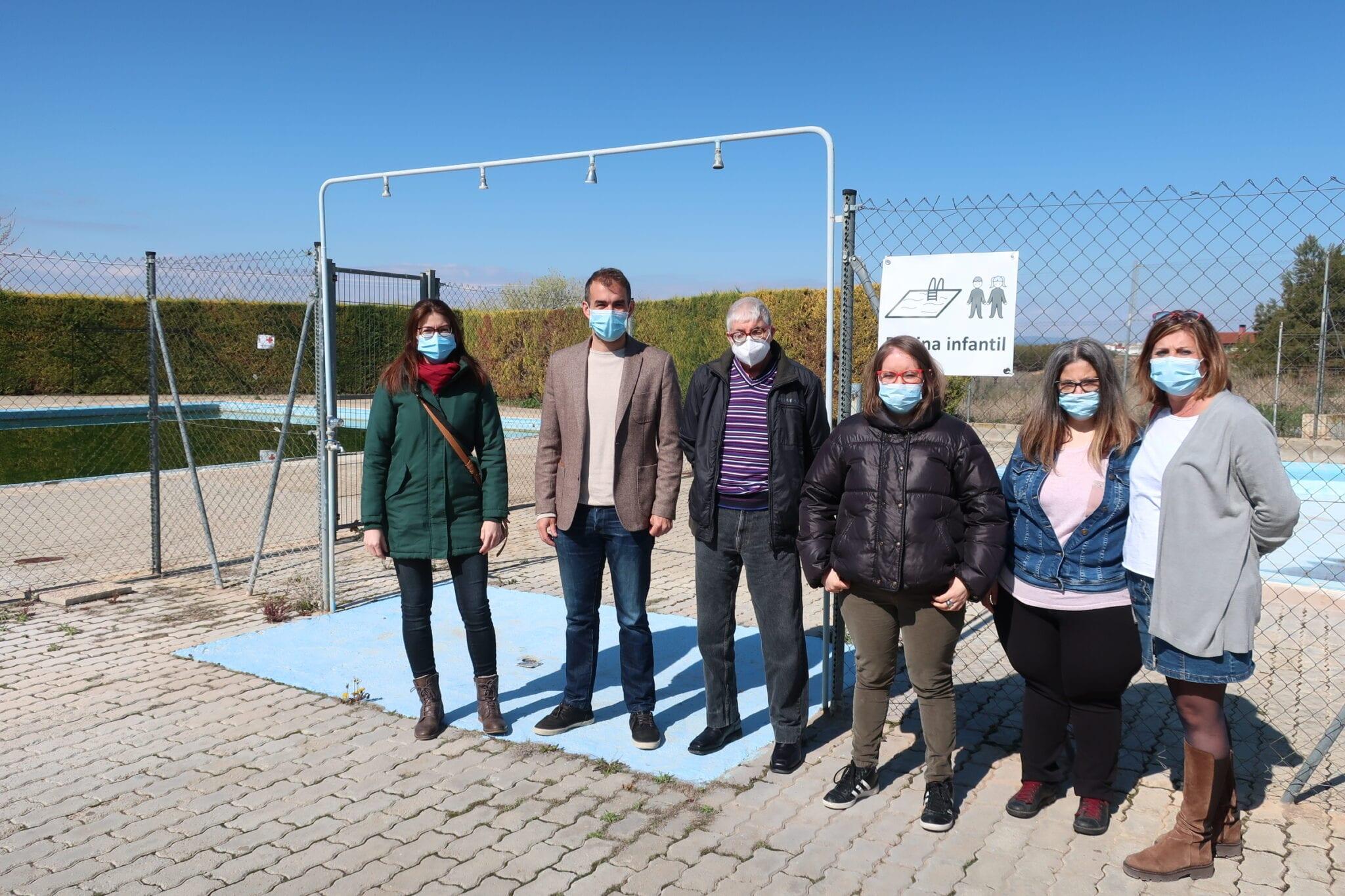 La Piscina de San León cuenta con nueva cartelería accesible realizada por ATADI