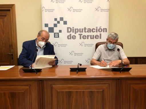 Atadi firma el convenio con la Diputación de Teruel