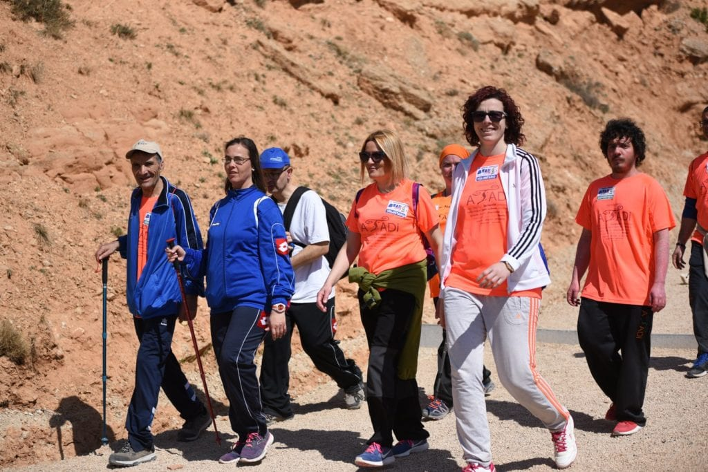 Marcha senderista ATADI Alcorisa