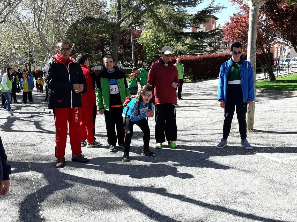 Más de 300 deportistas compiten en el XXVI Campeonato de Petanca en Teruel