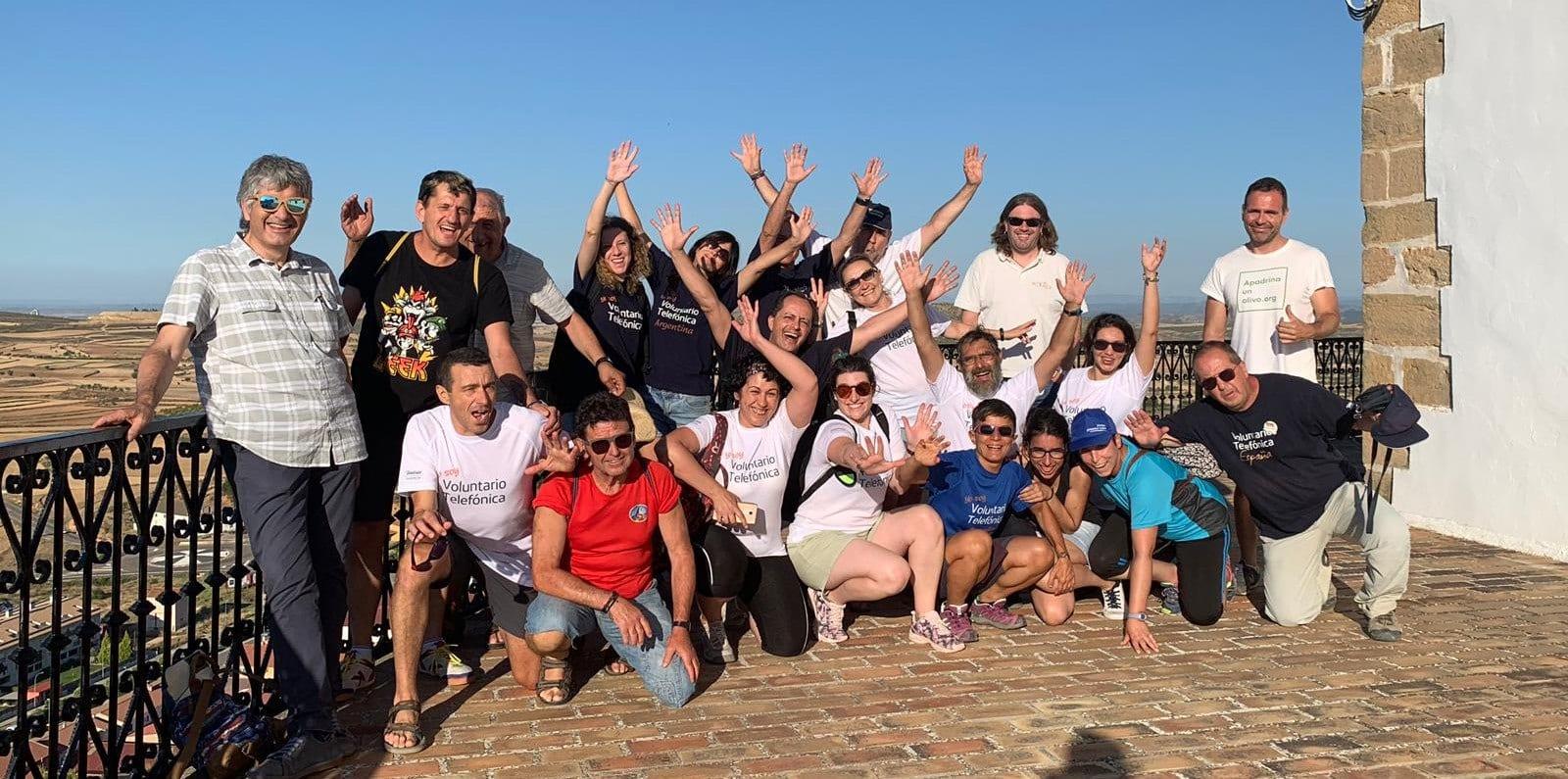 ATADI Andorra participa en la Semana del Voluntariado de Telefónica con Apadrina un Olivo