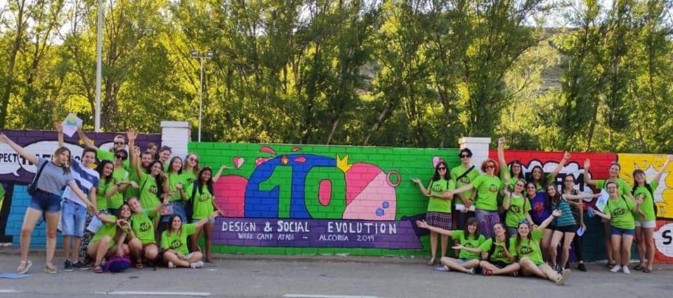 Finaliza con éxito el décimo campo de voluntariado juvenil de ATADI en Alcorisa