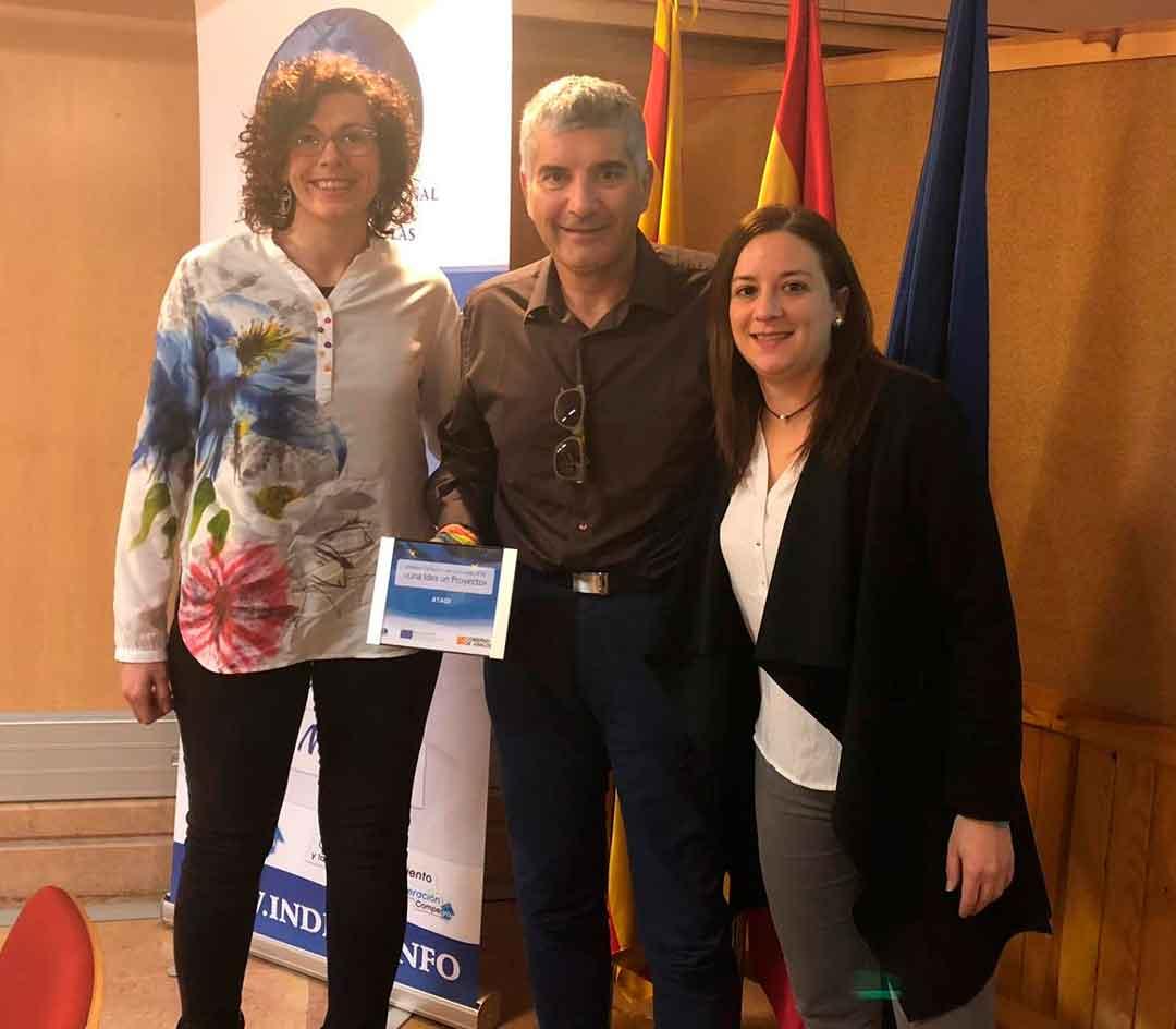 ATADI gana el concurso del Gobierno de Aragón 'Una idea, un proyecto' para acceder a programas europeos