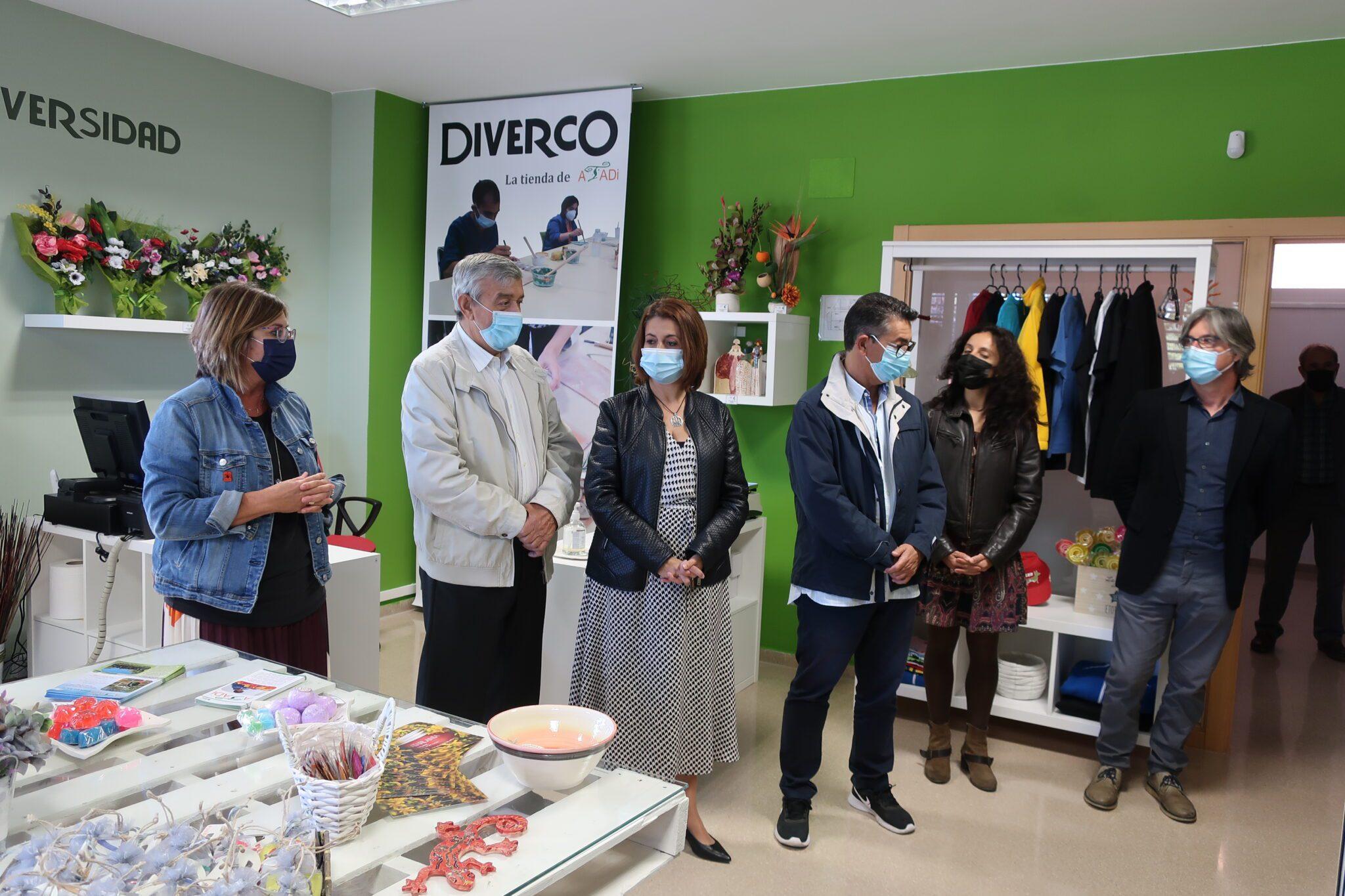 ATADI abre Diverco, una tienda de productos ecosostenibles en Teruel