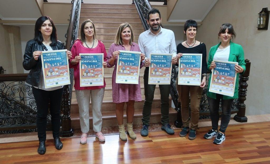 Carrera Solidaria por la discapacidad rueda de prensa 1