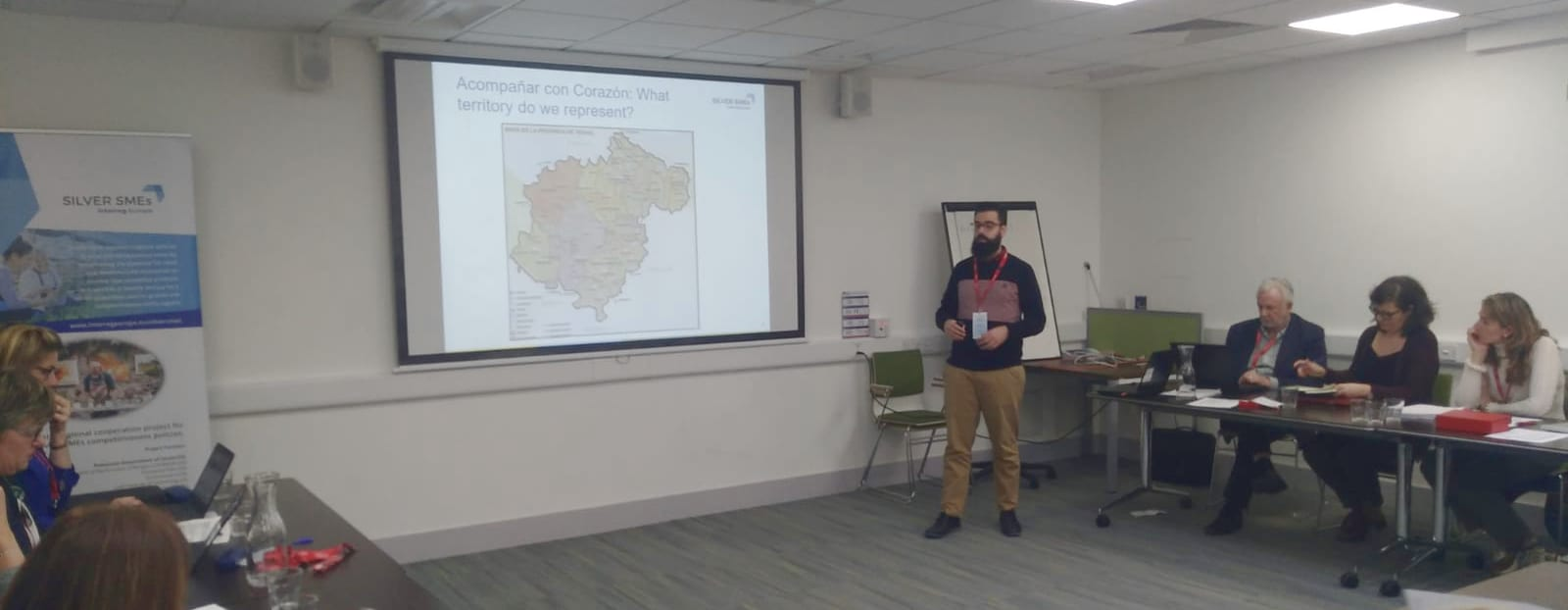ATADI y Cáritas comparten experiencias en Irlanda invitados por la Diputación de Teruel