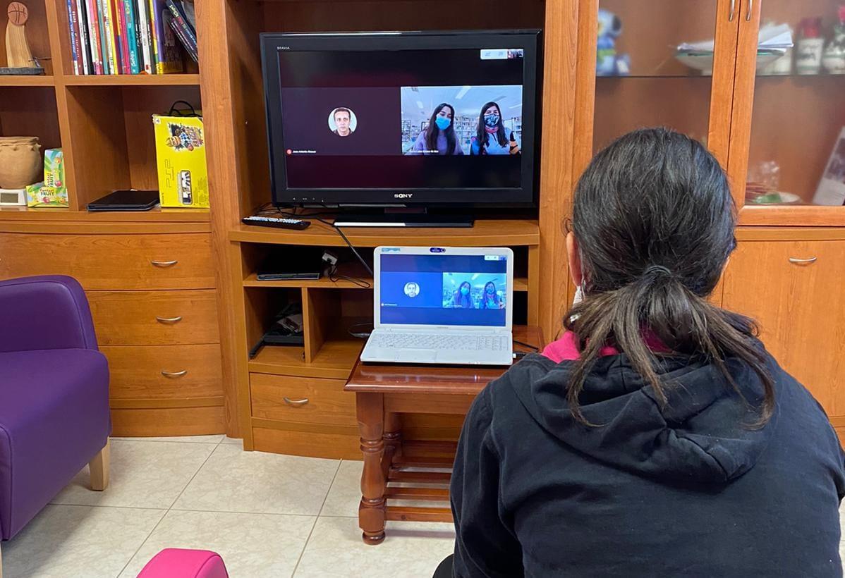 Vuelven los encuentros entre usuarios de ATADI y alumnado del IES Damián Forment de Alcorisa