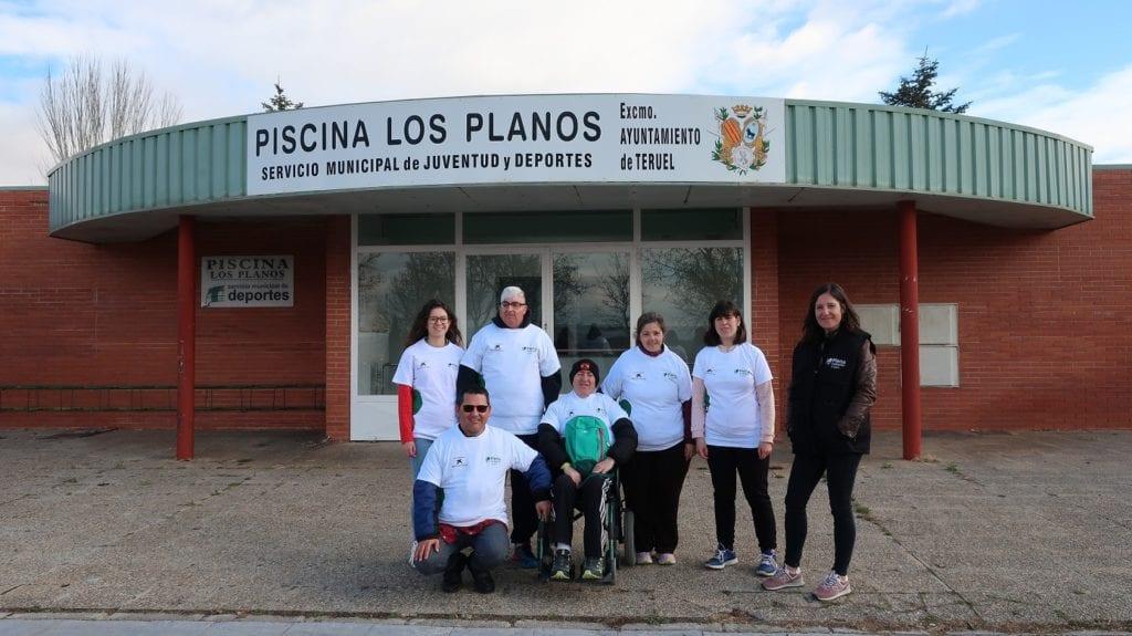 ATADI realiza el estudio de accesibilidad cognitiva de la piscina Los Planos.
