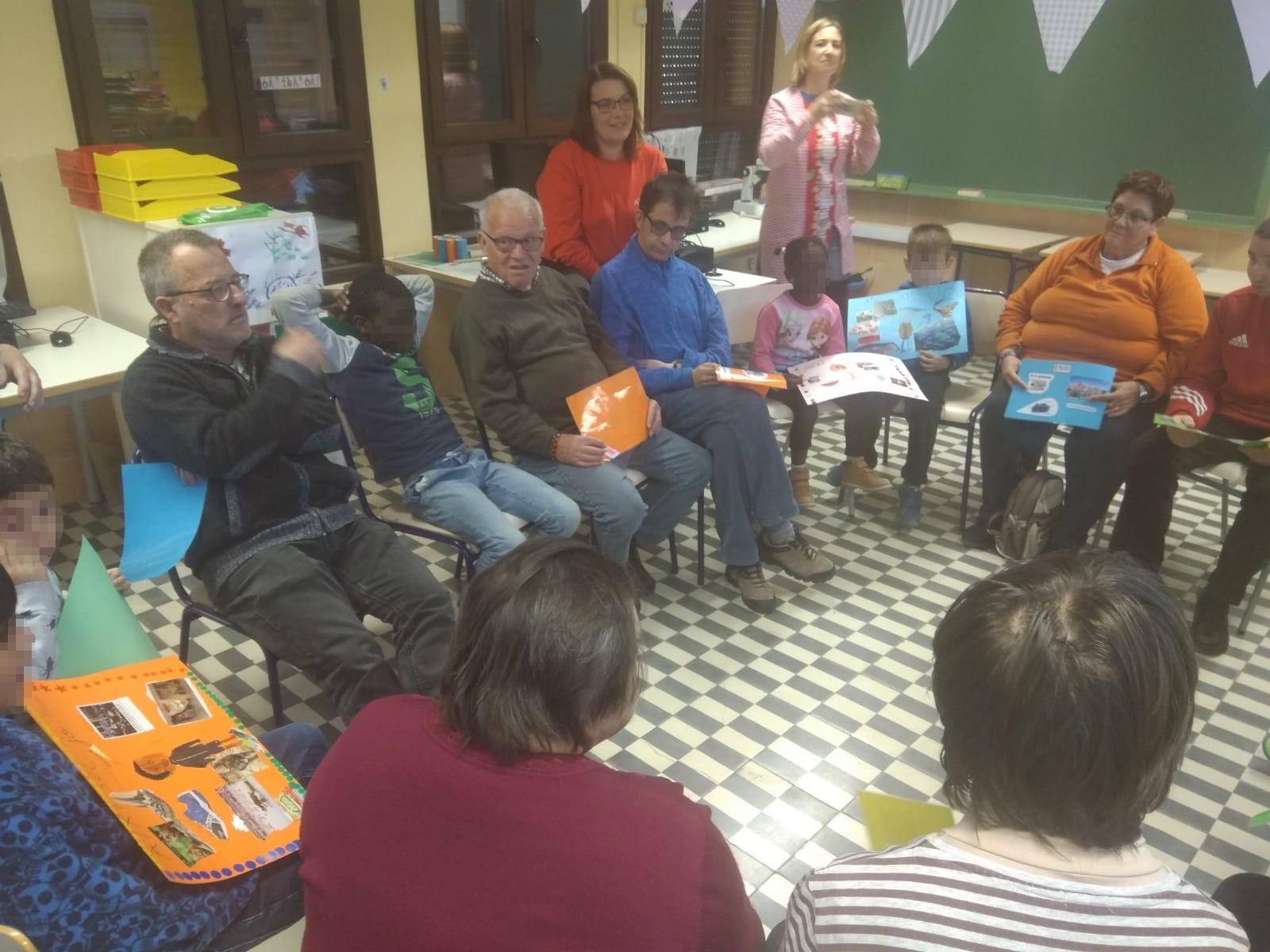 ATADI Maestrazgo y el CRA Els Ports realizan actividades en torno a la discapacidad