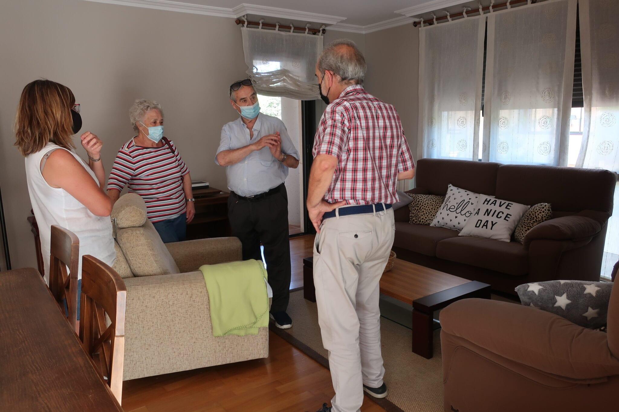 Tres personas con discapacidad intelectual vivirán en la nueva vivienda tutelada de ATADI en Teruel