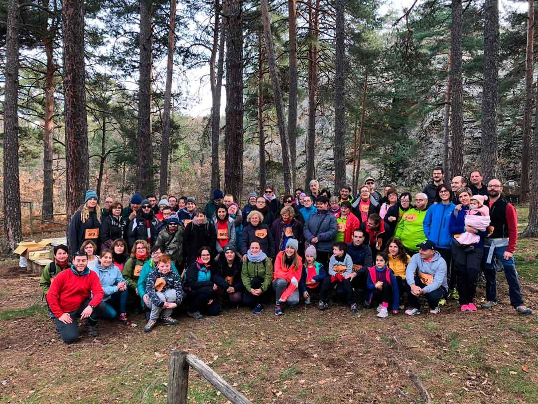 350 participantes disfrutan de la Berrea Trail Race en Orihuela del Tremedal