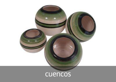Cuencos de cerámica en Diverco