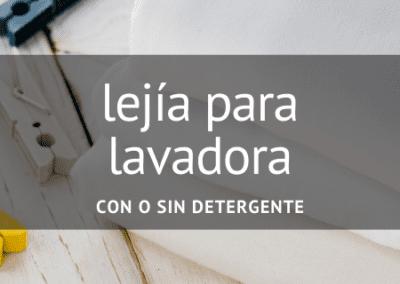 Lejía para lavadora en Diverco
