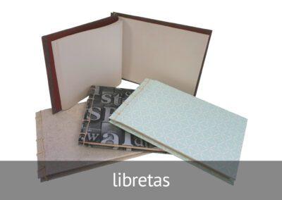 Libretas artesanales hechas por personas con discapacidad intelectual en ATADI