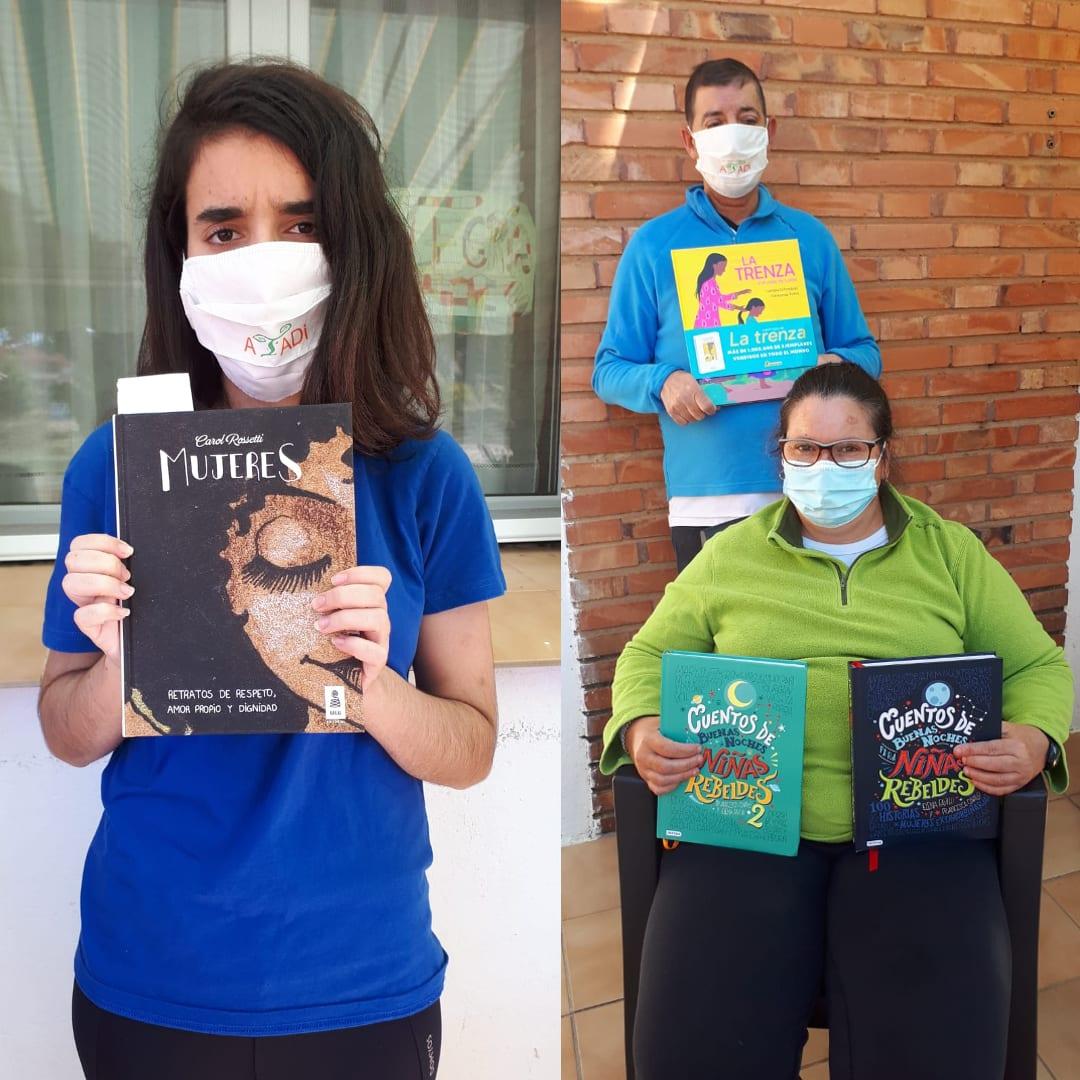 El Ayuntamiento de Andorra dona a ATADI libros para educar en igualdad