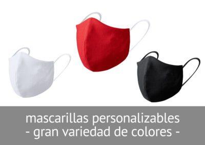 Mascarillas higiénicas personalizables en Diverco
