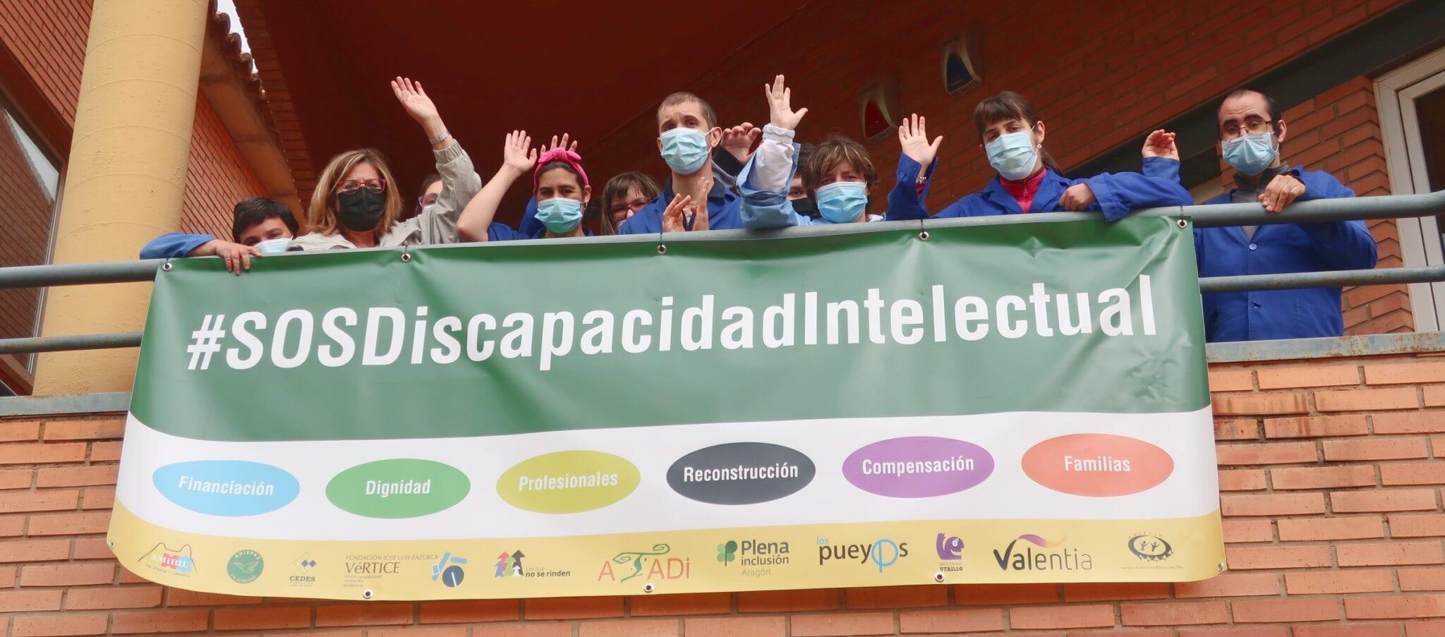 El sector de la discapacidad lanza un SOS al Gobierno de Aragón