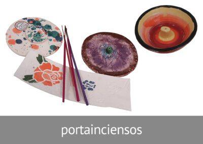 Portainciensos artesanales de cerámica en Diverco