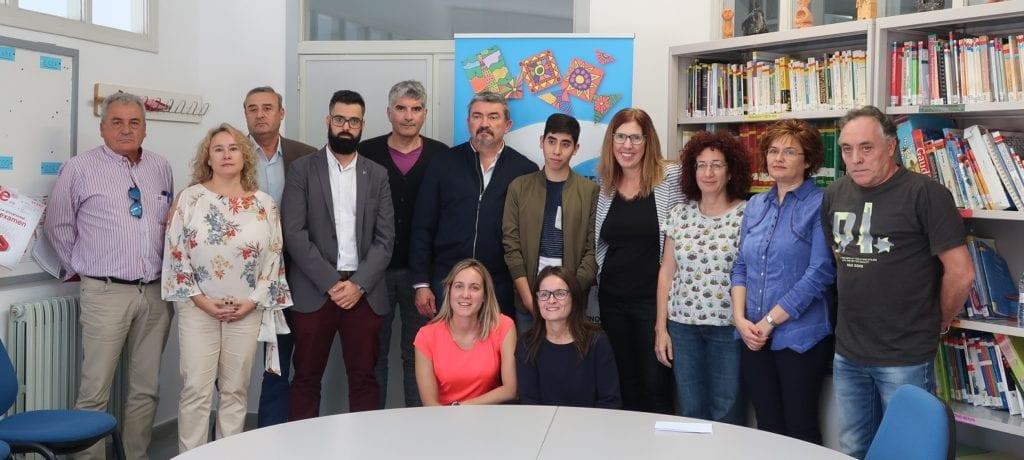 Presentación convenio limpieza Gloria Fuertes y Atadi Empleo